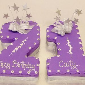 21st Birthday Cakes