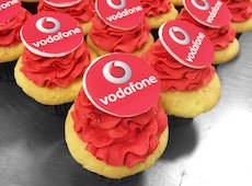 Cakes – Event Cakes – Corporate Cakes – Vodofone