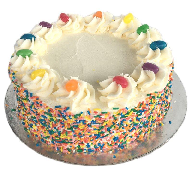 Sprinkles Cake - Kidd\'s Cakes & Bakery