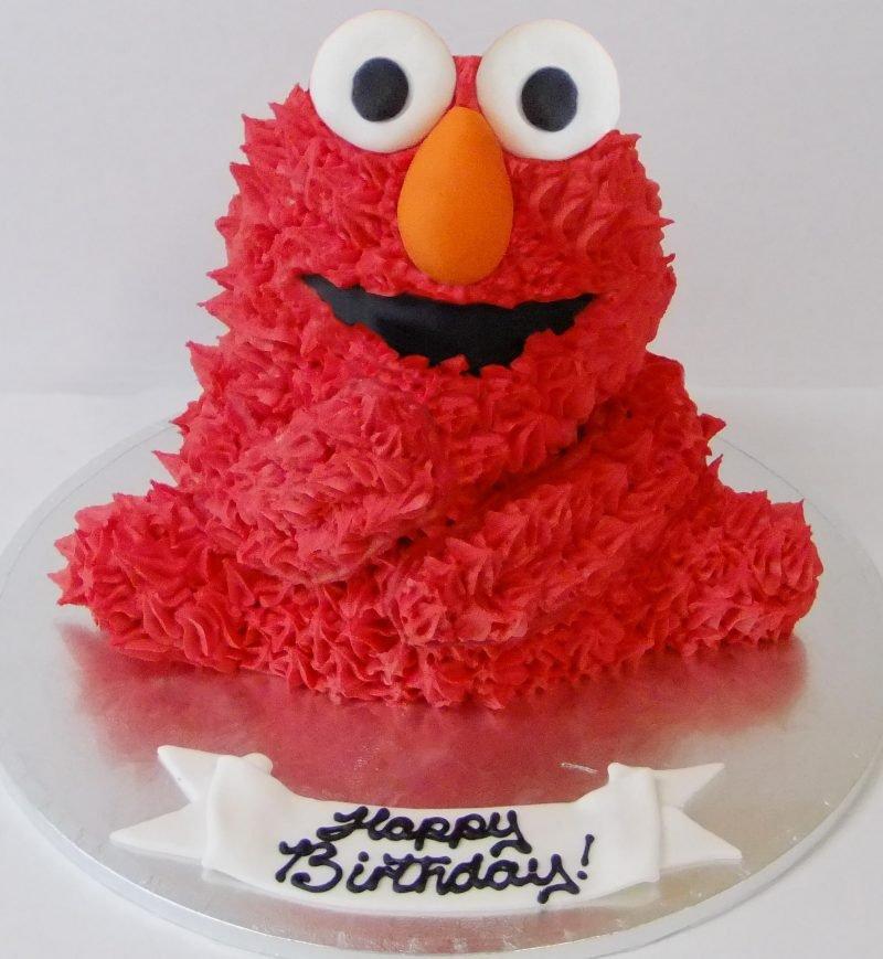 3D Little Monster Birthday Cake Description