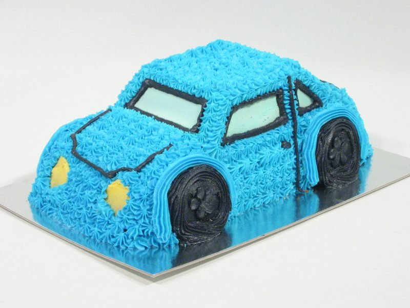3d Car In Blue Birthday Cake Kidd S Cakes Bakery