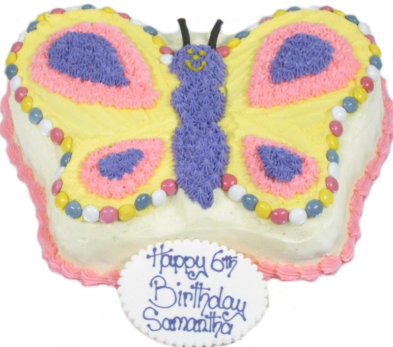 Childrens Birthday Cakes Butterfly Cake Description