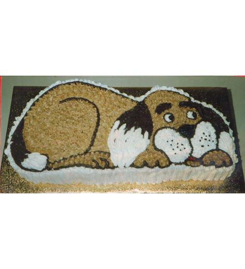 Childrens Birthday Cakes Dog Cake Description