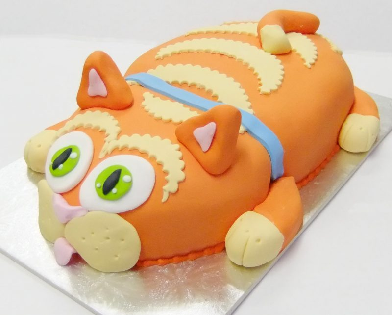 Awesome Kitty Cat Birthday Cake Kidds Cakes Bakery Funny Birthday Cards Online Inifofree Goldxyz