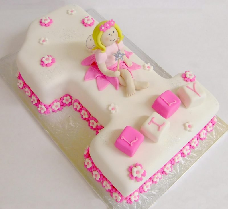 No1 Fairy Birthday Cake Kidds Cakes Bakery