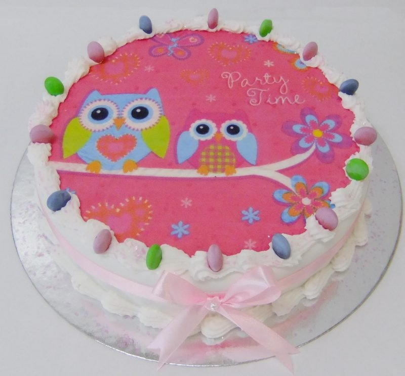 Childrens Birthday Cakes Party Time Cake Description