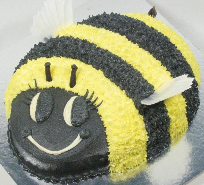 Childrens Birthday Cakes Bumble Bee Cake Description