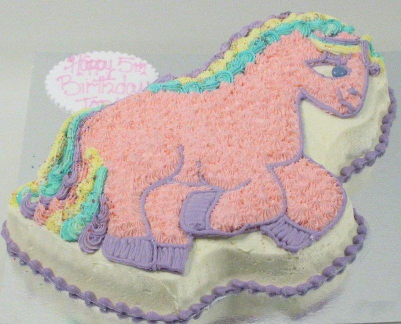 My Lil Pony Birthday Cake Kidds Cakes Bakery