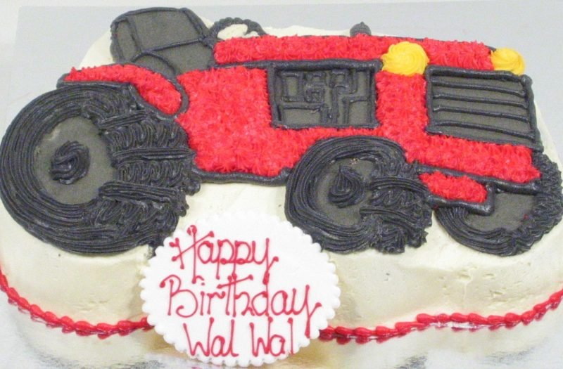 Brilliant Tractor Birthday Cake Kidds Cakes Bakery Funny Birthday Cards Online Fluifree Goldxyz