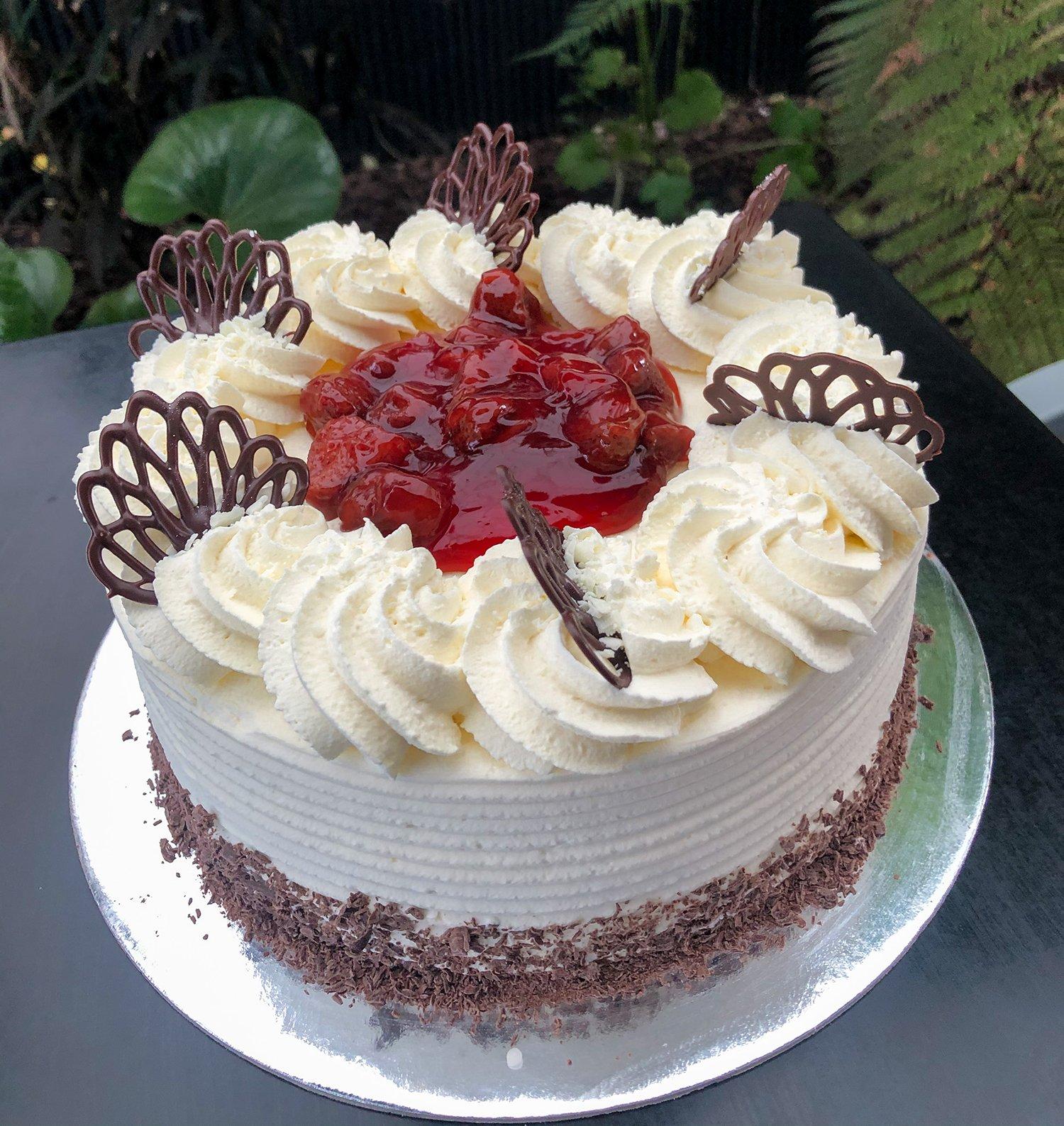 Strawberry Gateau - Kidd's Cakes & Bakery