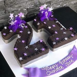 Incredible 21St Birthday Cakes Kidds Cakes Bakery Personalised Birthday Cards Arneslily Jamesorg